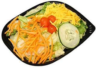 Side Salad at Jack in the Box