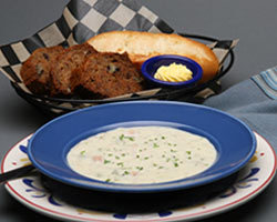 Clam Chowder at Mimi's Cafe