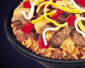 SOUTHWEST STEAK BORDER BOWL® at Del Taco