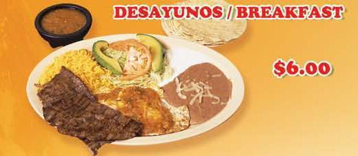 Dish at Los Comales