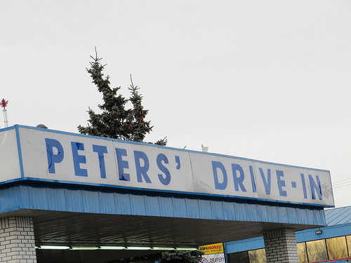 Exterior at Peter's Drive-In