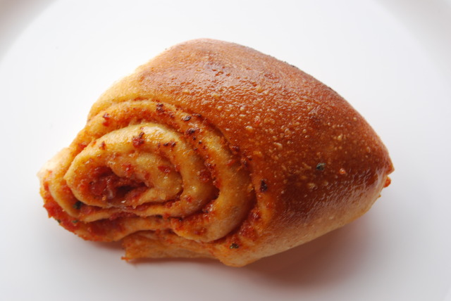 This Pizza Roll is delicious. Be warned...they are addictive - Pepperoni Rolls at Roppolo's Pizzeria
