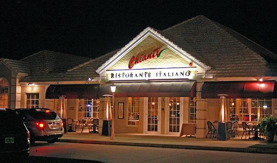 Restaurant Menu at Chianti Ristorante Italiano