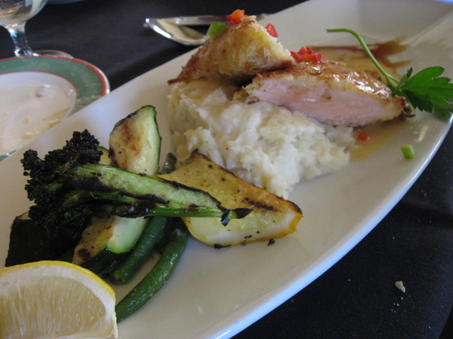 Photo of Orange Coconut Crusted Salmon