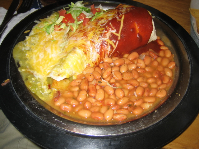 Breakfast Burrito at Blue Corn Cafe