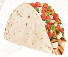FRESCO RANCHERO CHICKEN SOFT TACO at Taco Bell