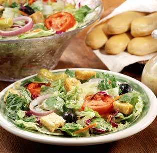 Garden-Fresh Salad at Isaac's Restaurant & Deli
