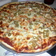Sausage and Olive Pizza - Sausage and Olive Pizza at Luigi's Pizza