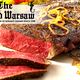Prime Roasted New York Strip Steak, Cognac Deglazed at Old Warsaw Restaurant