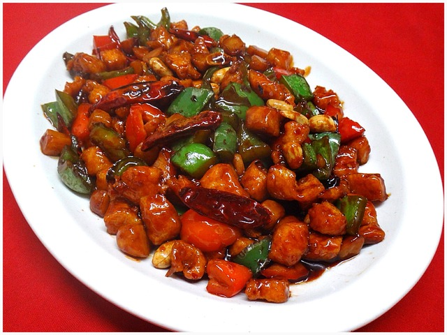 Kung Pao Chicken at Kum Fong Restaurant