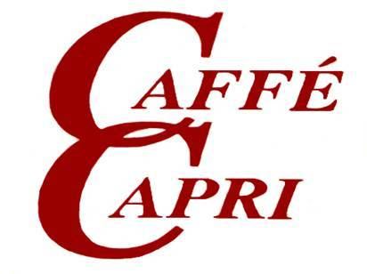 Logo at Caffe Capri