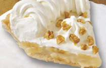 Banana Cream at Perkins Restaurant & Bakery