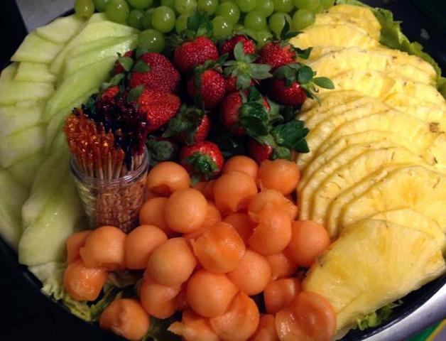 Fresh Fruit Platter at Royal Roast Beef & Seafood