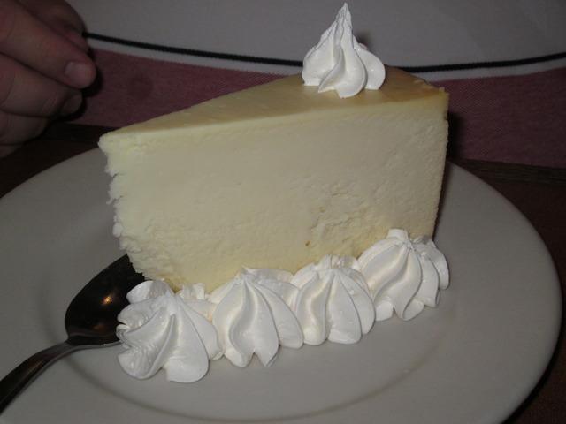 Cheesecake at Branded Steer