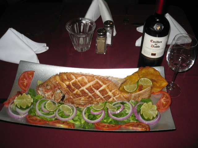 Red Snapper at Havana's Cuban Cafe