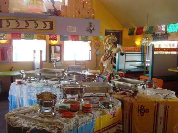 Interior at Lista's Grill
