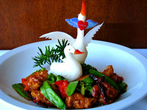 General Tsos Chicken at China Sky