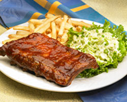 Spice Rubbed Baby Back Ribs at Mimi's Cafe