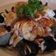 Seafood over pasta (frutti de mare) - frutti de mare at Ristorante Pavarotti