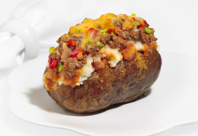 Sloppy Joe Potato at Good Earth Potato