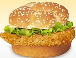 Chicken Fillet Sandwich at Arby's