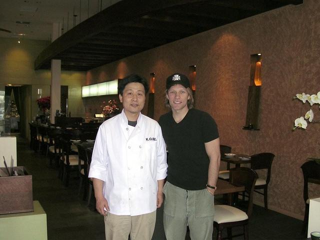 Interior at Arisu Japanese Cuisine