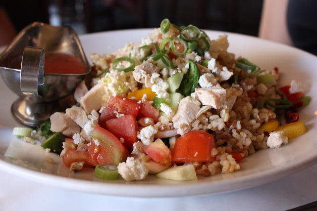 Brown Rice Salace at 26 Beach Cafe