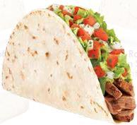 FRESCO GRILLED STEAK SOFT TACO at Del Taco