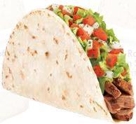 FRESCO GRILLED STEAK SOFT TACO at Del Taco