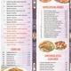 Menu page 2 - Restaurant Menu at New Mandarin Chinese Restaurant
