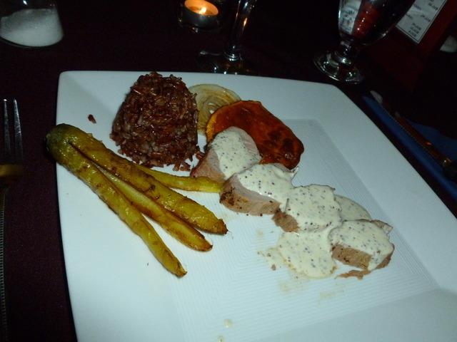 Filet of pork at Le Cochon Braisé (CLOSED)