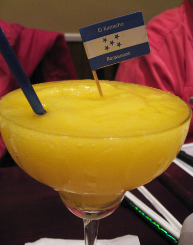 Mango Margarita at El Katracho
