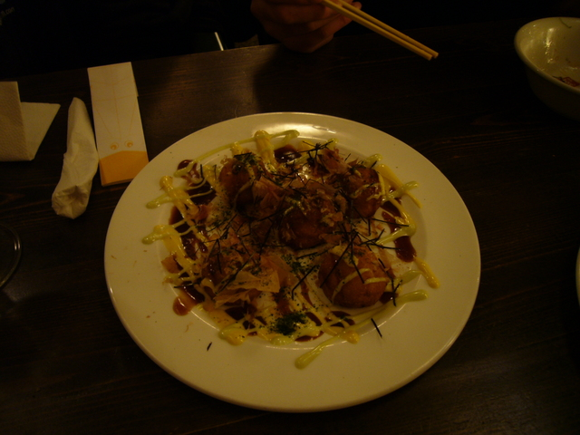 Takoyaki at Kitanoya Guu