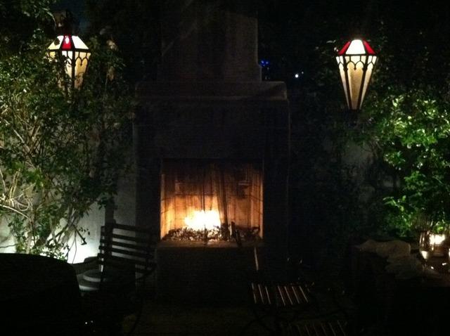 Exterior at La Boheme