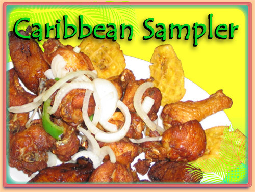 Caribbean Sampler at Ramirez Restaurant