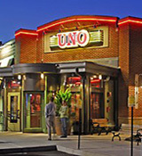 Exterior at UNO Chicago Grill