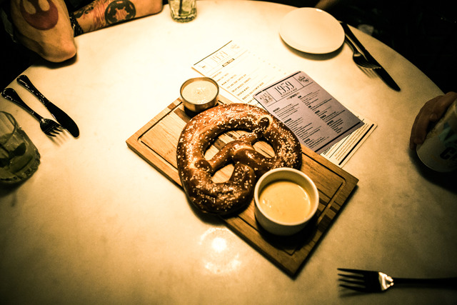 Warm Soft Pretzel at 1959 Kitchen & Bar