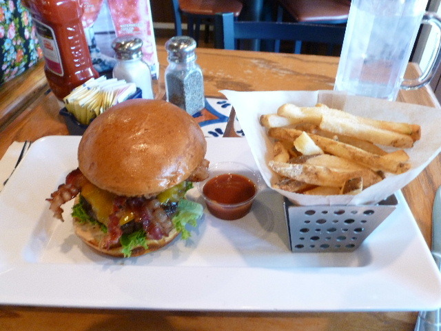 Southern Smokehouse burger at Chilli's Too