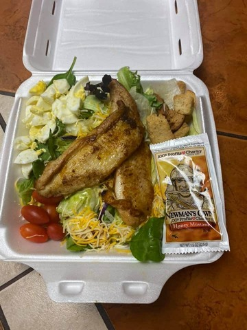 Grilled or Fried - Salads at McFarland's Cafe de Cajun