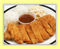 Chicken Katsu at L & L Hawaiian BBQ