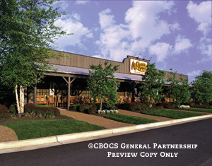 Exterior at Cracker Barrel Old Country Store