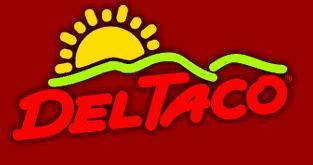 Logo at Del Taco