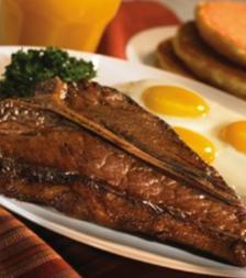 T-Bone Steak & Eggs at IHOP