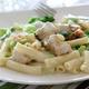 Creamy Parmesan Alfredo Sauce, Sauteed Chicken Breast & Fresh Broccoli tossed in Penne - Chicken Broccoli Alfredo at More Perreca's