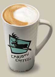 Latte at Starbucks Coffee