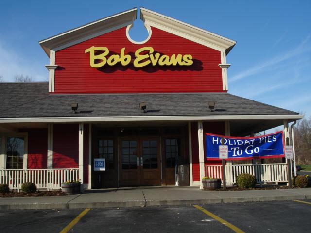 Exterior at Bob Evans