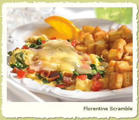 FLORENTINE SCRAMBLE at Coco's Restaurant & Bakery