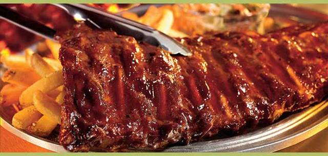 Honey BBQ Baby Backs at Applebee's