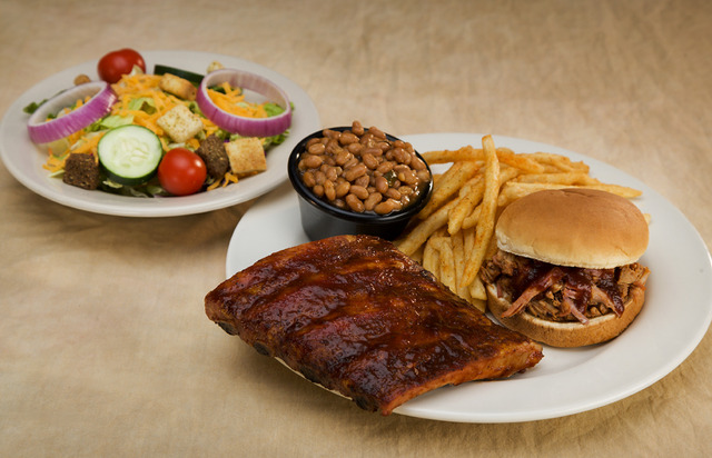 Ribwich Combo at Sticky Fingers Smokehouse