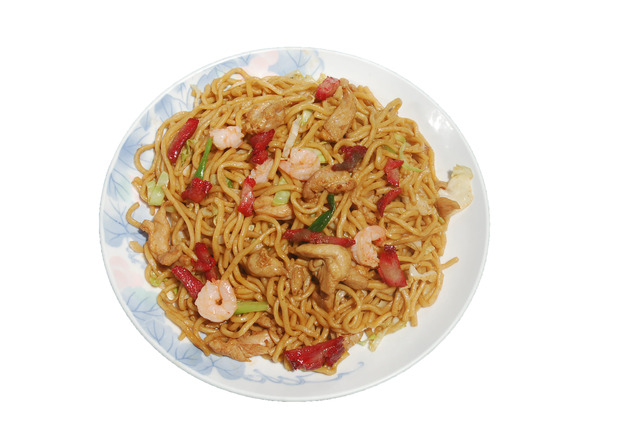 House Special Chow Mein at Shanghai Restaurant
